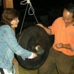 Gong Beating