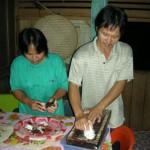 Traditional Food Preparation - 'Lompuka'
