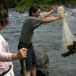 Fishing with Fish Net